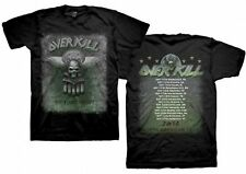 Overkill White Devil Armory Official 2014 North American Tour Shirt Size L New