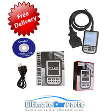 BMW C110 Scanner Engine Diagnostic Airbag ABS Fault Code Scan Tool Reader OBD2BM
