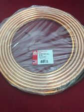 "NEW STREAMLINE Refrigeration Tube Dehydrated 1/2"" O.D .032"" Wall 50' Copper Coil"