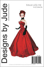 "Dance with Me Gown Pattern for 16"" Urban Vita Dolls Horsman"