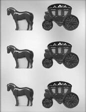 Horse & Carriage Chocolate Candy Mold from CK  #15352 - NEW