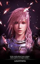 "FINAL FANTASY XIII Poster LIGHTNING RETURNS Silk Wall art  POSTER 12x19"" FF6.1"