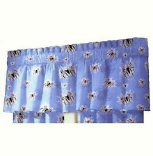 MARVEL SPIDERMAN SPIDER WEB DECORATIVE RUFFLE WINDOW VALANCE/CURTAINS ~Blue~ NEW