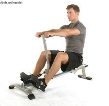 Rowing Machine Rower Row Stamina Cardio Home Exercise Body Fitness Glider Gym