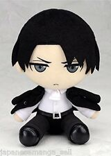 Attack on Titan Levi Suit Ver. Plush Plushie Gift New condition instock