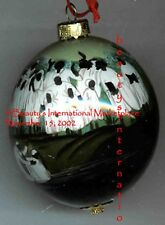 "Annie Lee Liquidation SALE! Glass Ornament:""Rebirth""/Religious/Christmas"