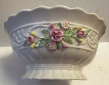 Belleek Parian china console large bowl  Annual Piece 2002 Tree Of Life Ltd Ed