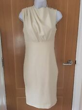 Ted Baker Cream Pleat Detail With Shoulder Buttons