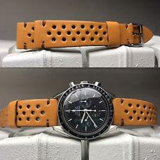 Handmade Leather Strap Bracelet Band 20Mm For chronograph Gmt Speedmaster