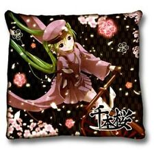 Vocaloid 24'' Hatsune Miku Throw Pillow Black Cushion Anime MINT