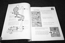 Focomat 1c & 1B enlarger manual 38 pages largest and best reprint