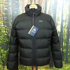 PYRENEX MENS UK M BLACK 700 DUCK DOWN PUFFER ASPE JACKET COAT RRP £239