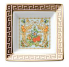 VERSACE TRAY PLATE GOLD CANDY GOLD GREEK LE JARDIN Rosenthal NEW RET.130$ SALE