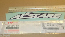 "GSX-R600 New Genuine SUZUKI ""ALSTARE"" Panel Decal Emblem Badge 68181-39FA0-MH3"