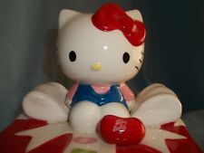 HELLO KITTY  JELLY  BEAN  CERAMIC  GIFT  BOX.  DATED  c)2013  FOR CANDY OR ?