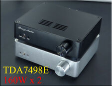 160Wx2 TDA7498E HiFi Digital Power Amplifier Dual BTL Class D Audio Amplifier