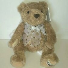 Herrington Teddy Bears HUGS the Holiday Angel Bear Tan Fuzzy Plush 2003 LNWT