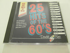 25 Hits Of The 60`s - The Sixties - Marked (CD Album) Used very good
