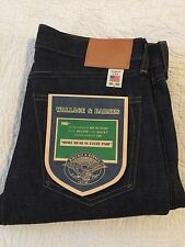 Wallace Barnes Slim Selvedge Jeans Raw Indigo 30x30 USA New $248 JCrew Denim