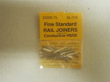 1 PACKAGE PECO CONDUCTIVE RAIL JOINERS CODE 75 HO SCALE  (LOT 236)