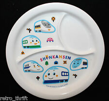 Sanrio Japan Skater Shinkansen Melamine Ware Children Child Divided Plate 21cm
