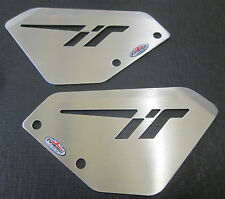Aprilia Tuono 1000 (06-10) Stainless Steel Foot Peg Heel Plates Beowulf HPAP001