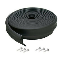 New M-D Building Products 3749 Garage Door Bottom Rubber, 16 Feet, Black