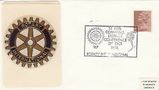 (20887) GB Abdeckung - Rotary International - St. Ives 1978