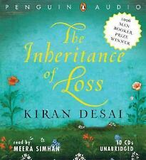 THE INHERITANCE OF LOSS unabridged audio book on CD by KIRAN DESAI