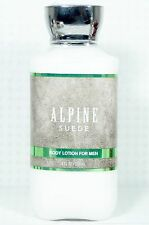 1 Bath & Body Works ALPINE SUEDE Body Lotion / Hand Cream MENS