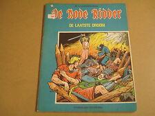 STRIP / DE RODE RIDDER N° 41 - DE LAATSTE DROOM