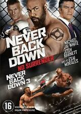 NEVER BACK DOWN 3 : NO SURRENDER  -   DVD - PAL Region 2 - New