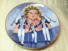 """Shirley Temple Poor Little Rich Girl 8 1/4"""" Collector Plate # 595 - MINT! 1986"""