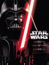 cofanetto+3 DVD NUOVO SIGILLATO STAR WARS Trilogy episodi 4-5-6 IV-V-VI LOTTO