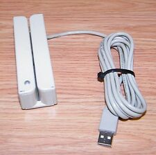 *UNTESTED* Replacement USB Magnetic Credit Card Swipe Reader Scanner *READ*