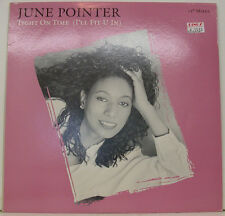 "JUNE POINTER - TIGHT ON TIME (I'LL FIT U IN) 12"" MAXI SINGLE (h940)"