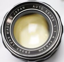 Auto Sears 55mm F1.4 M42 Screw Mount Lens For SLR & Mirrorless Cameras **READ**