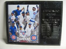 Chicago Cubs 2016 World Series Champions plaque - New Lower Pricing!!