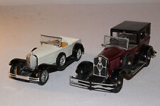 Lot of 2 Solido and Rio Diecast Cars, Parts