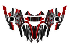 Arctic Cat Firecat Sabercat Graphics 2003 2004 2005 2006 F5 F6 F7 #3333 Red