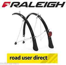 "Raleigh 26"" Mountain Bike Mudguards Silver (26 x 60mm) 213 Inc Tracked Courier"