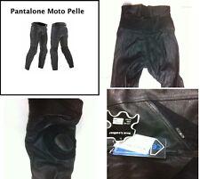 Pantaloni Moto Motociclista BRK SF Pelle PREZZO AFFARE ULTIMI PEZZI Art.01046 S