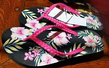 Women's FLORAL DESIGN STYLISH slippers Shoes Sandals size 9