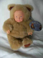 ANNE GEDDES BABY BEAR DOLL!  WITH TAGS 9""