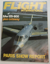 Flight International Magazine BAe 125-800 June 1983 FAL 061015R