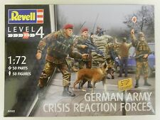 Revell 02522 - German Army Crisis Reaction Forces           1:72 Plastic Figures