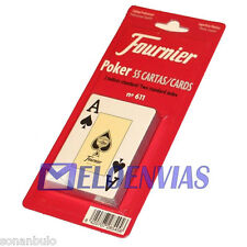 BARAJA DE CARTAS FOURNIER Nº 611 ORIGINAL 55 NAIPES POKER, CALIDAD