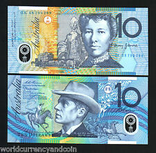 AUSTRALIA $10 P52 1998 *POLYMER* HORSE UNC WORLD CURRENCY MONEY BILL BANK NOTE