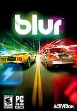Blur - for PC WINDOWS DVD-ROM - BRAND NEW FACTORY SEALED