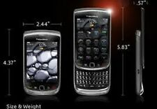 BlackBerry Torch 9800-Negro, Blanco/Rojo